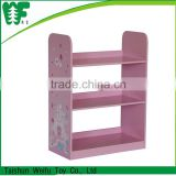 Wooden kid book shelf /magazine rack/toy organizer