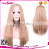 NO MOQ fashion sexy women blonde wig top quality                                                                         Quality Choice