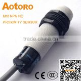 M18 cylinder FR18-5DC 2-wires NC inductance proximity sensor with CE certification high quality