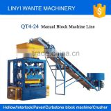 Low price QT4-24 semi-automatic hollow brick making machine machinery factory price                                                                                                         Supplier's Choice