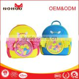 NOHOO newest 3D cartoon backpack beautiful kids school bags for girls 2016                                                                                                         Supplier's Choice