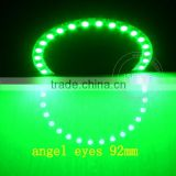 DC12v Epistar chips 5050 smd White PCB semi circle 92mm angel eyes remote control rechargeable led bulb light