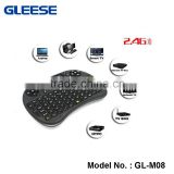 Dongguan Wholesale Mini i8 Fly Air Mouse i8 2.4g wireless mini keyboard For PC Notebook Android TV Box
