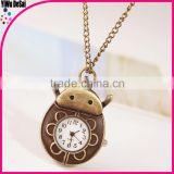 creative necklace watch wholesale insects pocket watch