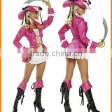 Pink Pirate Costume role-playing game uniforms eported clothing taste suits Halloween night