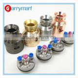 AV Cap New Design AV deck with Brass black ss copper AV battle cap mini av battle rda