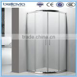 High quality whole shower cabin with double wheels