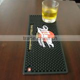 customized hot sell pvc brand bar mat