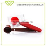 kitchen FDA plastic coffee measuring spoon with clip