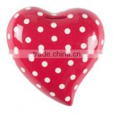 souvenir gift plastic heart money box, plastic heart shaped money box, OEM design high quality money box manufacturer