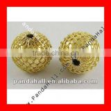 2014 Basketball Wives Earring Mesh Beads(PL535-G)