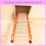 Attic lifts telescopic retractable aluminium household staircase attic stairs loft ladder attic stairs                                                                                                         Supplier's Choice