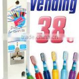 Mini Toothbrush and Toothpaste Vending Machine