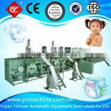 2016 New Machine to Make Baby Diaper in China