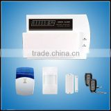 LED displays, Rubber keypad buttons ,Upgrade design wireless auto dial home security alarm system