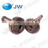 Spiral bevel gear auto parts for spiral bevel gear machine parts