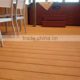2015 new no-painting design wood plastic composite decking