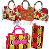 2016 OEM Wholesale African Print Fabric Tote, Ankara Print Tote Bag,Wax print handbag                                                                         Quality Choice