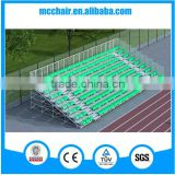MC-TG05 bench, fixed, portable metal bleacher, Tip-N roll bleacher, School bleacher, grandstand, school stands
