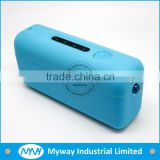 MYWAY professional customized samrt phone power charger / mobile power bank charger with silicone
