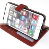 Photo album leather low price china mobile phone leather case for iphone 6                                                                         Quality Choice                                                     Most Popular