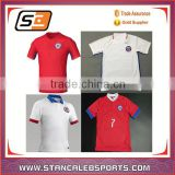stan caleb OEM service custom sublimation print Wholesale!Blank blue training soccer jersey team soccer uniforms