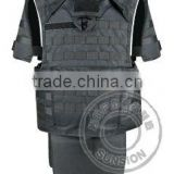 SUNSION Bullet proof Vest USA NIJ standard for military with four ply nylon thread stitched