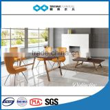 TB 2016 new marble top dining table with rose gold leg 8 seater marble dining set
