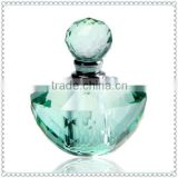 Exquisite Arch Faceted Baby Blue Perfume Bottle For Keepsake Favor