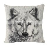 New design home decorative throw sofa pillow case cover custom linen handmade cushion cover