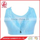 New design high quality women underwear plus size cheap wholesale bra with thin sponge