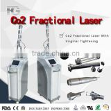Wrinkle Removal Co2 Laser/ High Quality RF Metal Tube Fractional Co2 Laser Ultra 15W(20W) Pulse Machine With Vaginal Tightening Medical CO2 Laser Machine With CE Face Whitening