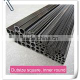 High quality&strength carbon fiber tube /carbon fiber square tube From Professional Manufacturer