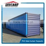 pvc container side curtain cover
