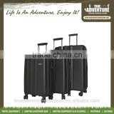 "TB6-001 Hot Selling Aluminium Frame 20"" 24"" 28"" trolley bag sets PP Luggage sets With TSA Luggage Lock"