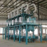 2T/H wheat flour mill, wheat process equipment certficated in SGS.ISO.BV.CE of whole line.