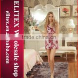 2015 wholesale hot fashion lace sexy adult girl babydoll open girl