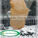 Plant Protection Cover,Winter Fleece Protective Cover, 60 x 80 cm, with draw cord, set of 4