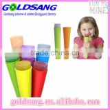 Snack Holders and Ice Pop Molds - Easy to Clean Ice Pop Snack Tubes