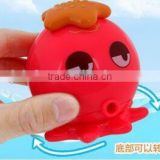 cute water spray animal shaped pvc bath toys,Funny Rubber Baby Bath Toy For Sale,hot selling pvc bath toys