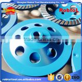 "150 mm turbo row diamond grinding disc cup wheel for concrete floor 6"" cutting tools for stone abrasive polishing grinder"