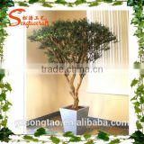 Wholesale artificial potted plant home decorative artificial tree plastic artiicial banyan tree