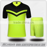 athletic custom sublimated soccer wear game printing football shirts suits training football jerseys uniforms