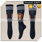 Breathable fast dry comfortable kids polyester footbal socks