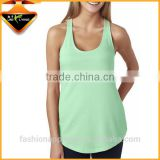 Promotional items women's loose fit tank top shirts in factories China