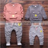 custom wholesale cotton long sleeve children clothes and blank kids hoodies factory in China