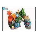 Artificial Personalised Coral Fish Aquarium Ornaments Polyresin Handcraft Aquarium Accessories