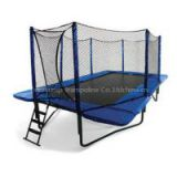 Rectangle Trampoline - Never delay shipment even Chinese New Year 14ft Trampoline Domijump
