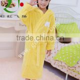 100% cotton terry cloth hooded child children robe, kids bathrobe