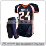 Professional American Football Club Kit / Football Uniforms / American Jersey With Good Quality latest football jersey designs